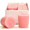Baby Powder Pink Votive Candles