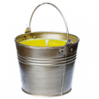 Citronella Bucket Outdoor Candle Antique Brass 22 oz.