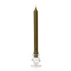 Moss Green Taper Candle Classic 10 Inch