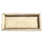 Champagne Rectangle Mosaic Tray
