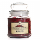 16 oz Cranberry Chutney Jar Candles