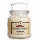 16 oz French Butter Cream Jar Candles