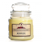 16 oz Pear Mango Smoothie Jar Candles
