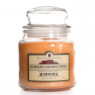 16 oz Pumpkin Caramel Swirl Jar Candles