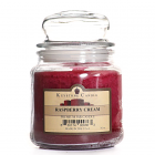16 oz Raspberry Cream Jar Candles