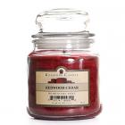 16 oz Redwood Cedar Jar Candles