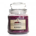 16 oz Spiced Plum Jar Candles