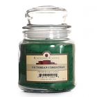 16 oz Victorian Christmas Jar Candles