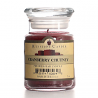 5 oz Cranberry Chutney Jar Candles