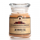 5 oz Warm Banana Bread Jar Candles