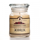 5 oz Wedding Cake Jar Candles
