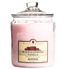 64 oz Black Raspberry Vanilla Jar Candles