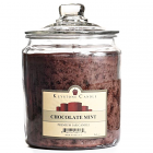 64 oz Chocolate Mint Jar Candles
