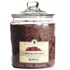 64 oz Chocolate Mint Jar Candles