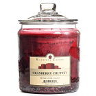 64 oz Cranberry Chutney Jar Candles