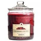 64 oz Cranberry Chutney Jar Candles