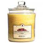 64 oz Cranberry Kettle Corn Jar Candles