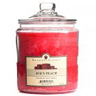 64 oz Juicy Peach Jar Candles
