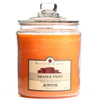 64 oz Orange Twist Jar Candles