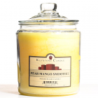 64 oz Pear Mango Smoothie Jar Candles