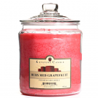 64 oz Ruby Red Grapefruit Jar Candles