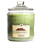 64 oz Sage and Citrus Jar Candles