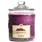64 oz Spiced Plum Jar Candles