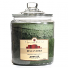 64 oz Tuscan Herb Jar Candles