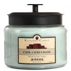 64 oz Montana Jar Candles Cool Citrus Basil