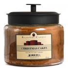 64 oz Montana Jar Candles Christmas Cakes
