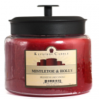 64 oz Montana Jar Candles Mistletoe and Holly