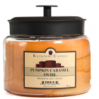 64 oz Montana Jar Candles Pumpkin Caramel Swirl