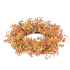 Rust Eucalyptus Candle Ring 6.5 Inch