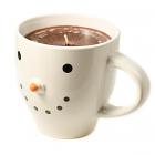 Hazelnut Coffee Candle in Snowman Mug