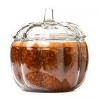 Candle in Pumpkin Shaped Jar