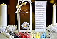 Bridal Poem Taper Candles Gift Box