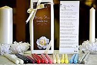 Bridal Poem Taper Candles Gift Box