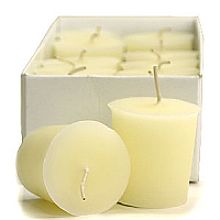 Unscented Ivory Votives