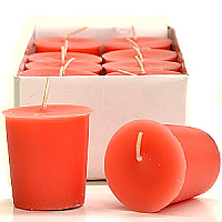 Juicy Peach Votive Candles