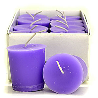 Lavender Votive Candles