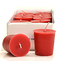Mistletoe and Holly Votive Candles