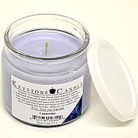 5 oz Lavender Soy Jar Candles