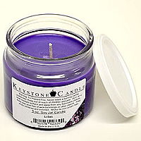 5 oz Lilac Soy Jar Candles