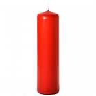 3x12 Red Pillar Candles Unscented
