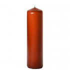 3x12 Terracotta Pillar Candles Unscented