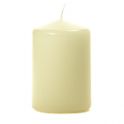3x4 Ivory Pillar Candles Unscented