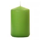 3x4 Lime Green Pillar Candles Unscented