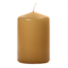 3x4 Parchment Pillar Candles Unscented