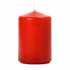 3x4 Red Pillar Candles Unscented