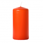 3x6 Burnt Orange Pillar Candles Unscented